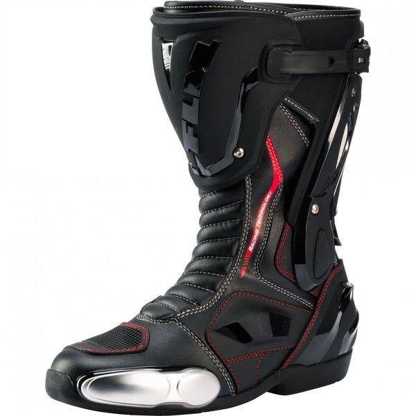 Motoristični športni škornji FLM 3.0 moški, črni