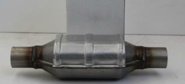 Katalizator je sestavljen iz keramičnega satovja ali kovinske folije oziroma iz goste mreže kanalov