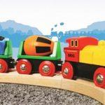 Novi leseni vlakci za otroke vseh starosti