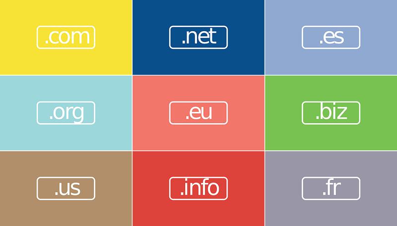 Registracija domene tipa .eu, .biz, .info